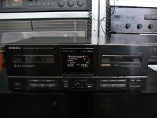 DOPPIA PIASTRA REGISTRATORE CASSETTE DECK TECHNICS RS-X520 - LEGGI BENE!!!