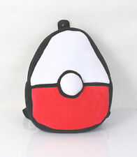 New Pokemon Poke Ball Soft Plush Backpack Bag Schoolbag Kids Christmas Gift