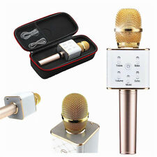 Q7 Wireless Bluetooth Karaoke Microphone Mini Handheld KTV Mic Speaker For Phone