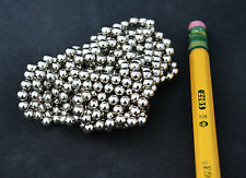 100 pcs 4mm Magnets SPHERES BALLS - N35 STRENGTH Neodymidium NICKEL COATED