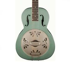Gretsch G9212 Honey Dipper Square Neck Resonator Guitar - Swamp Green!