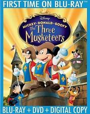 The Three Musketeers (Blu-ray Disc, 2014, 2-Disc Set, 10th Anniversary)