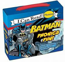 My First I Can Read: Batman Phonics Fun! by Lucy Rosen (2011, Paperback)