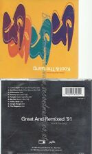CD--KOOL & THE GANG--GREAT AND REMIXED '91