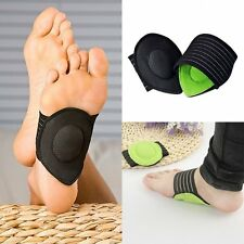 1 Pairs Fallen Arch Support Cushions Flat Feet Foot Care Pain Relief Wrap Pads