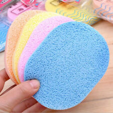 1Pc Wood Fiber Face Wash Cleansing Sponge Beauty Makeup Tool Accessories