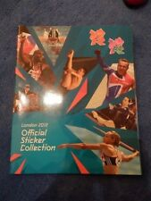 London 2012 Olympics Olympic Panini Sticker Album