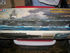 NEW Tamiya CVN65 USS Enterprise Aircraft Carrier 1/350 Sealed Bags Vintage