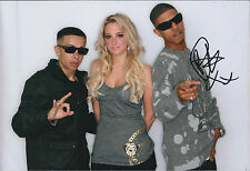 Fazer N-Dubz Rapper Richard RAWSON SIGNED Autograph Photo AFTAL COA MOBO Music