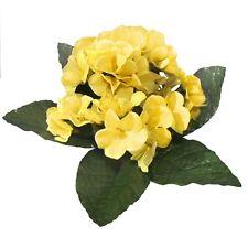 22cm artificial Primrose Plantas-Flores Amarillas-Decorativo planta de plástico