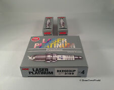 6 PCS BMW Spark Plugs NGK Double Laser Platinum BKR6EQUP 3199 E39-E46-M54 JAPAN