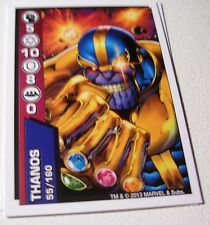 FIGURINE CARTA CARTE  COOP MARVEL 2013 55/160 SUPER EROI THANOS