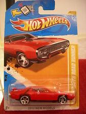 Hot Wheels '71 Plymouth Road Runner Red 2012 New Models