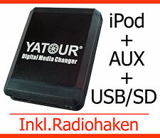 USB mp3 iPod iPhone AUX adattatore Fiat 500 BRAVO PANDA PUNTO STILO DOBLO 'Interface