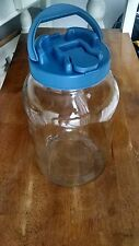 NEW SANGRIA GLASS ICE ICED SUN TEA LEMON WATER GALLON JAR JUG WITHOUT W/O SPIGOT