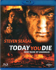 Today you die , 100% uncut , Blu_Ray Region B/2 , new / sealed , Steven Seagal