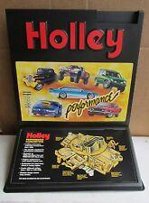 VINTAGE HOLLEY PERFORMANCE CARBURETORS-ADVERTISING SIGN-RAT ROD-GARAGE ART