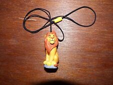 RARE Vintage Disney The Lion King necklace figure toy character Mufasa kitsch