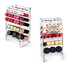 6 tiers Lipstick Strong Tower Makeup Cosmetics Organizer Stand  Beauty Saloon