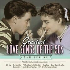 Greatest Love Songs of the 50s New CD