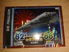 Force ATTAX Extra Star Wars HOLO-Scheda n. 114 la Finalizer Figurina