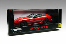 HOTWHEELS ELITE  FERRARI 599 GTO 2010 RED, Plain body 1/18  T6925