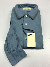 MAURO GRIFONI chemise homme Oxford céleste vestibilité' slim 42-16 1/2