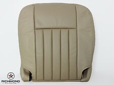 2005 2006 Lincoln Navigator Ultimate Luxury DRIVER Bottom Leather Seat Cover Tan