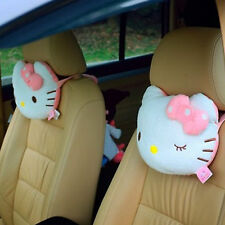 2 Packs Hello Kitty Seat Head/Neck Rest Cushion Pillow for Auto Car Vehicle Home