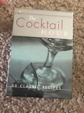 Chronicle Books The Cocktail Hour Deck 50 Classic Recipes Recipe Cards