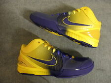 Nike Air zoom Kobe IV 4 FOUR RINGS Lakers size 11 DS NEW NIB OG Original RARE PE