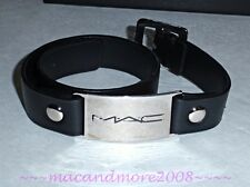 NIB MAC COSMETICS Leather Wrap Bracelet ~Employee Jewelry~ Holiday Gift ~RARE