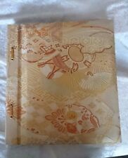 Stitched Chinese Themed Photo Album 20 pages 12x13 inches Make offer!