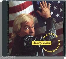 Marty Balin - Better Generation - New 1991, 16 Song GWE CD! It's No Secret