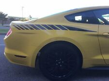 MUSTANG FADED Strobe REAR QUATER Stripe Decal Stripes 2015 2016 2017