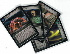 Star Trek CCG Decipher 2nd These are the Voyages: 3x Rare Cards freie Auswahl