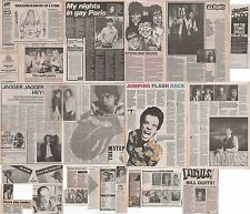 ROLLING STONES : CUTTINGS COLLECTION -1980s- interviews