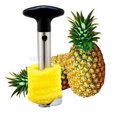 New Stainless Steel Fruit Pineapple Corer Slicer Cutter Peeler Easy Kitchen Tool
