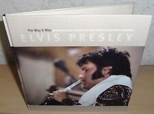 "ELVIS PRESLEY BOOK + CD ""THE WAY IT WAS"" 2001 FTD # 12 DELETED JULY AUGUST 1970"