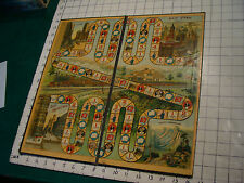 Early McLoughlin PHOEBE SNOW game board only, late 1800's or early 1900's
