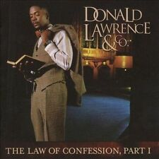 The Law of Confession, Part I by Donald Lawrence (Producer) (CD, 2009, Zomba...