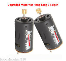 Nouveau Heng long taigen upgraded motor 2 pcs pour 1/16 rc réservoir