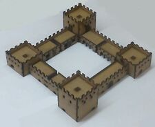 North African 10mm Scale Adobe Fort Set MDF Kit