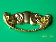 """VICTORIAN DRAWER PULLS  FURNITURE PULL , SOLD IN PAIRS, 3"""" CC, SOLID BRASS"""
