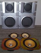 VINTAGE JVC TWEETERS AND MIDRANGES FROM SK-S22 SPEAKERS! TESTED & WORKING!