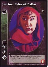 4 x Justine, Elder of Dallas VTES CCG Tenth