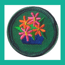 ART in the HOME Junior Jade Girl Scout Badge Patch 2001 NEW Mobile Multiples