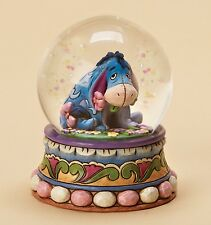 Disney Traditions Gloom To Bloom Eeyore Resin Figurine Snowglobe Xmas Gift Box