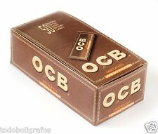 Ocb Virgin Regular , 100 libritos papel natural para liar tabaco. Corto. 69mms