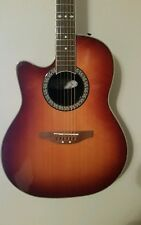 lefty Ovation Celebrity guitar left hand mint  made in Korea w/ soft case